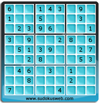 Nivel Facil de Sudoku